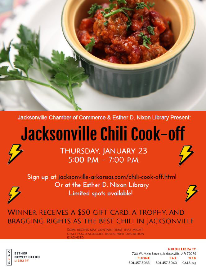 Jacksonville Chili Cook Off flyer
