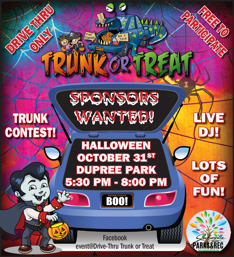 Trunk or Treat Drive Thru 2020 Jacksonville AR